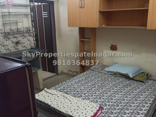 Furnished Single Room For Rent in Patel Nagar