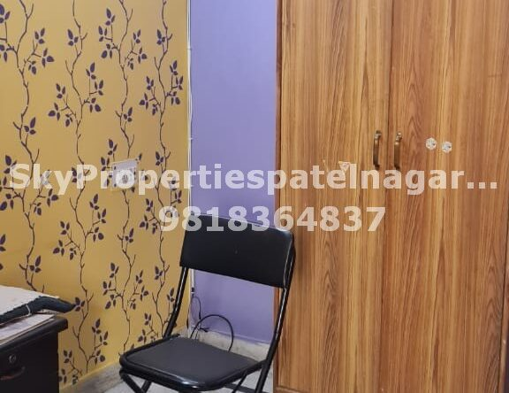 1 Bhk Flat in Patel Nagar delhi for rent